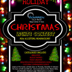 Warren Christmas Lights Contest copy
